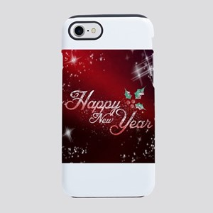 Happy New Year Holly iPhone 8/7 Tough Case