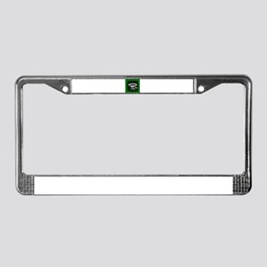 Green Welcome to a New Day License Plate Frame