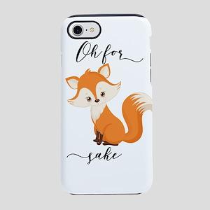 Oh For Fox Sake iPhone 8/7 Tough Case