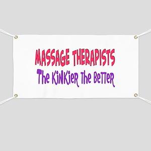 Massage therapists kinkier Banner