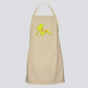 Sunburned Mudflap Girl BBQ Apron
