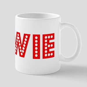 Retro Bowie (Red) Mug