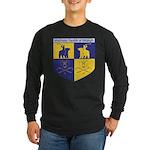 2-Bears Shield Logo Color 3D Long Sleeve T-Shirt