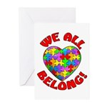 We All Belong! Greeting Cards (Pk of 10)