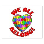We All Belong! Small Poster