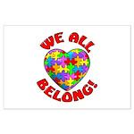 We All Belong! Large Poster
