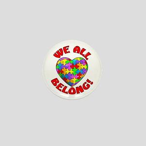 We All Belong! Mini Button