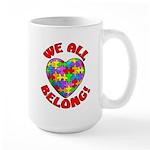 We All Belong! Large Mug