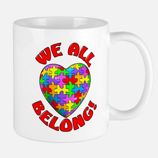 We All Belong! Mug
