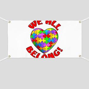 We All Belong! Banner