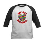 We All Belong! Kids Baseball Jersey