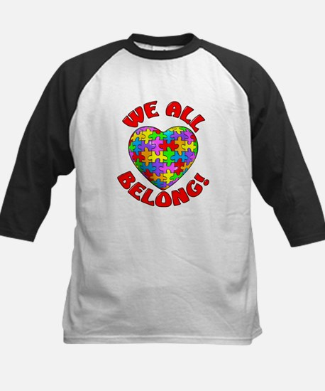 We All Belong! Kids Baseball Jersey