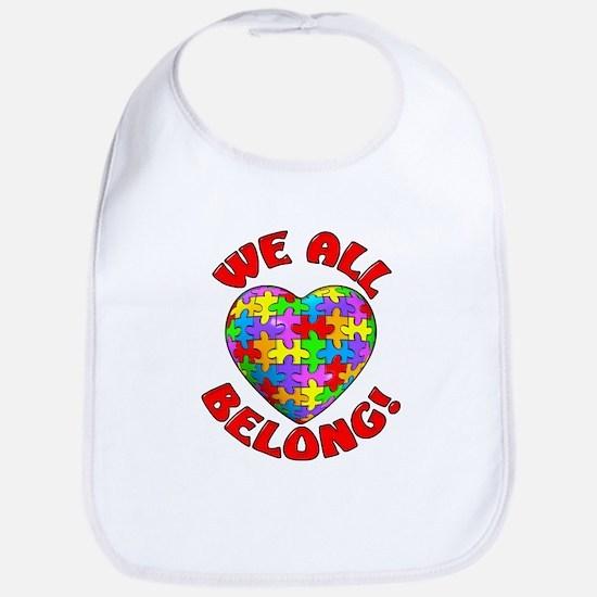We All Belong! Bib