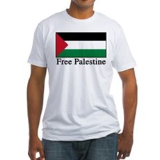 Free Palestine Fitted T-Shirt