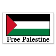 Free Palestine Rectangle Sticker