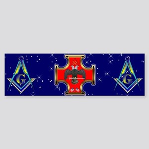 Masonic 32 degree Bumper Sticker