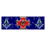 Masonic 32 degree Bumper Sticker