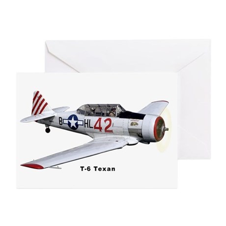 T-6 Texan Trainer Greeting Cards (Pk of 20)
