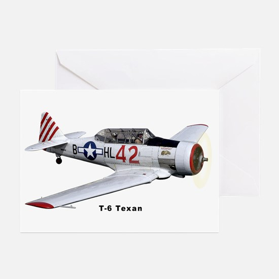 T-6 Texan Trainer Greeting Cards (Pk of 10)