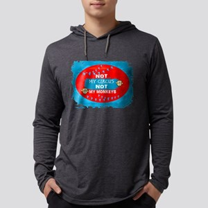 NOT MY CIRCUS LIGHT BLUE RED O Long Sleeve T-Shirt