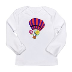 Ballooning Sunflowers Long Sleeve T-Shirt