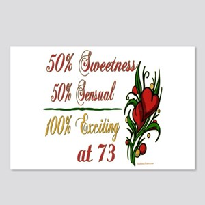 Exciting 73rd Postcards (Package of 8)