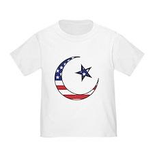 American Muslim Toddler T-Shirt