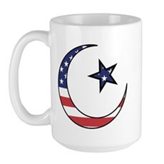 American Muslim Large Mug