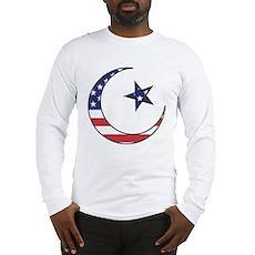 American Muslim Long Sleeve T-Shirt