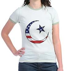 American Muslim Jr. Ringer T-Shirt