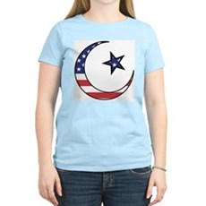American Muslim Women's Pink T-Shirt