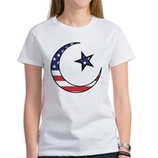 American Muslim Women's T-Shirt