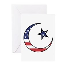 American Muslim Greeting Cards (Pk of 10)