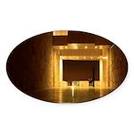 Lovers Soltude Oval Sticker (10 pk)