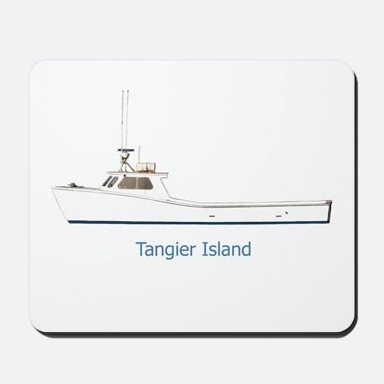 Tangier Island Deadrise Boat Mousepad