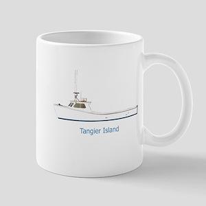 Tangier Island Deadrise Boat Mug