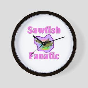 Sawfish Fanatic Wall Clock