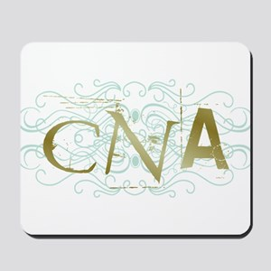 CNA Intricate Grunge Graphic Mousepad