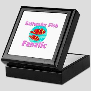 Saltwater Fish Fanatic Keepsake Box