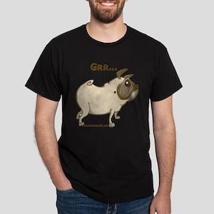 Pug 2 Dark T-Shirt