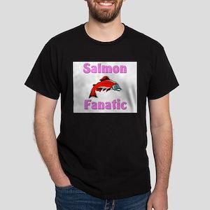 Salmon Fanatic Dark T-Shirt