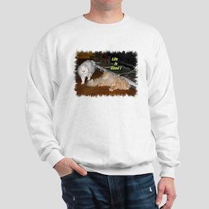 Life is Good - Persian Cats Sweatshirt