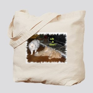 Life is Good - Persian Cats Tote Bag