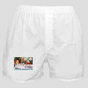 A Very Merry Unbirthday! Boxer Shorts