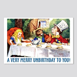 A Very Merry Unbirthday! Postcards (Package of 8)