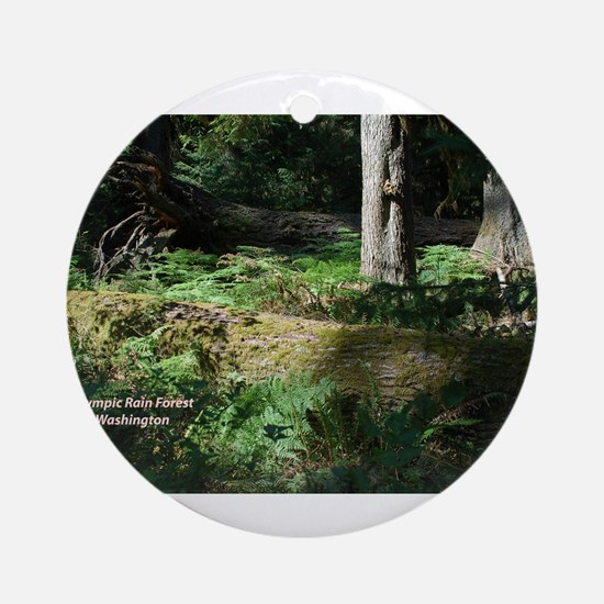 Deep in the Forest Ornament (Round)