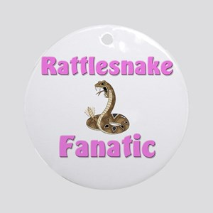 Rattlesnake Fanatic Ornament (Round)