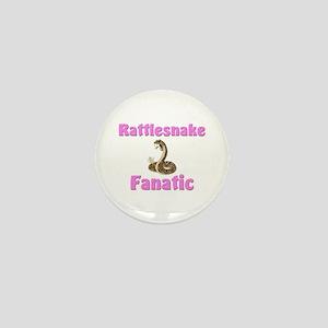 Rattlesnake Fanatic Mini Button