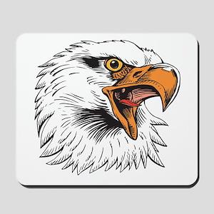Eagle Head Mousepad