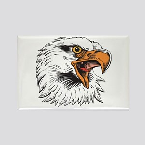 Eagle Head Rectangle Magnet